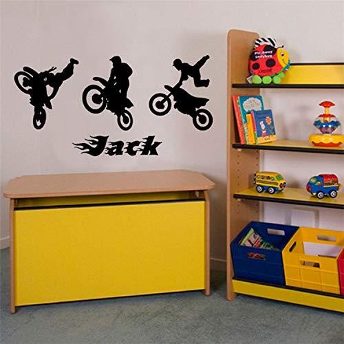 JXTK Kühle Holz Anhänger Rennen Geschnitzte Plakate Wohnzimmer Schlafzimmer Student Schlafsaal Schlafzimmer dekorative Wandaufkleber 57X107CM -