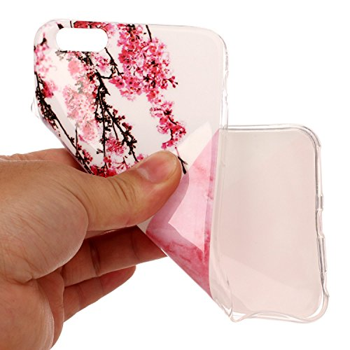 Cover iPhone 6 6s, Sportfun Modello in marmo morbido protettiva TPU Custodia Case in silicone per iPhone 6 6s (04) 05