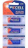 PKCELL 3 x 23A 12V (1 Blistercards a 3 Batterien) Quecksilberfreie Alkaline Batterien MN21, 23A, V23GA, L1028, A23 Markenware
