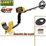 Pack détecteur de métaux GARRETT ACE 150 avec son protège...