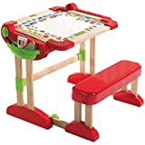 Smoby Activity Office Space Desk & Seat, Red