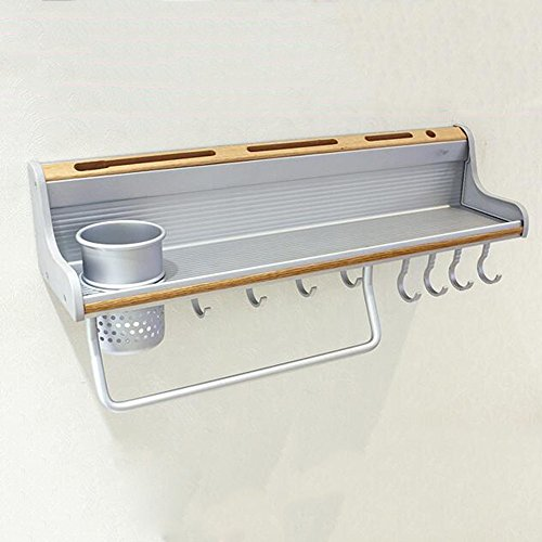 Spazio di alluminio da cucina rack, coltello, pendente hardware Rack Gancio bagagli