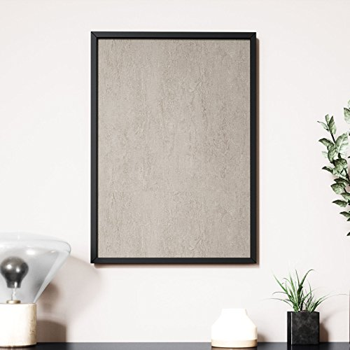 Newroom Design NEWROOM Wandbild 70x50cm Wandposter fertig zum Aufhängen gerahmt Putz Beton Stein...
