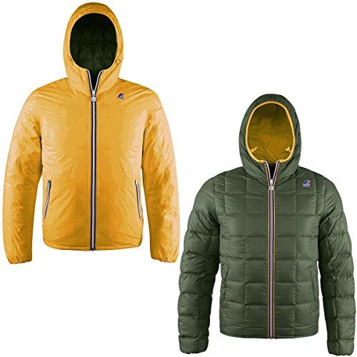 K-Way Giubbotti JACQUES THERMO PLUS DOUBLE Cold Buster Uomo