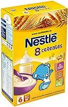 Nestlé - Papillas 8 Cereales Con Yogurt A Partir De 8 Meses 600 g
