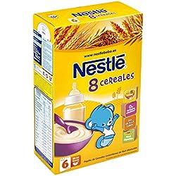 Nestlé papillas 8 cereales, a partir de 6 meses, 600g, 1 unidad