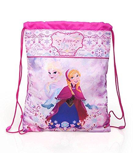 Disney Frozen- Die Eiskönigin Sportbeutel; 43 cm x 33 cm; rosa