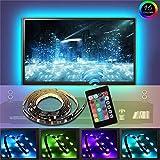 LED TV Hintergrundbeleuchtung TV RGB 5050 led Strip mit Fernbedienung 40-60 Zoll (Länge 2m)