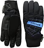 Spyder Herren Underweb Gore-Tex Ski Handschuh, Herren, Black/French Blue