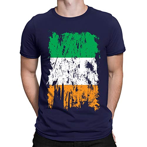 Distressed Ireland Flag Men's T-Shirt -