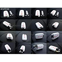 Carcasa de silicona de alta calidad para llaves de coche, incluye tres botones, compatible
