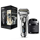 Braun Series 9 9295cc Wet&Dry Foil Chrome - men's shavers (Battery, Foil, Chrome, Charging, Cleaning, Drying, Lubricating)