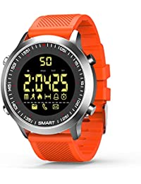 Smartwatch pulsera actividad Bluetooth Fitness Trackers reloj inteligente con cronómetro podómetro para hombre mujer teléfonos Android