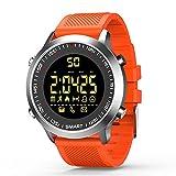 Smartwatch Bluetooth Armbanduhr Fitness Tracker EX18 Smart Watch mit Schrittzähler Stoppuhr für Damen Herren Kompatible Android iOS Telefone