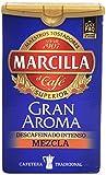 Marcilla - Descafeinado Café Molido Mezcla - 200 g - [pack de 3]