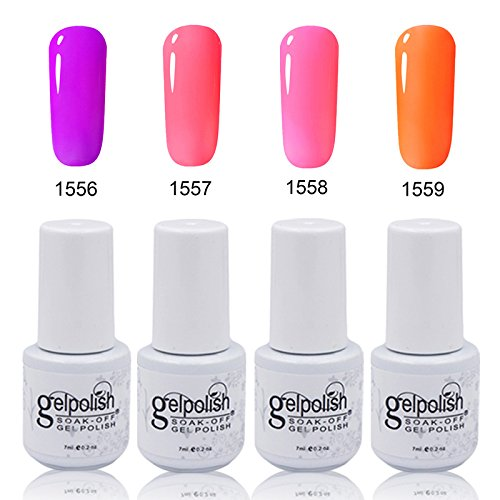 clhvuz Soak-off-UV-LED Gel Polish Top Coat Maniküre Nail Art 7 ml (Nagel-trockner Spa)