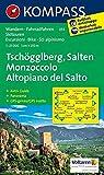 KOMPASS Wanderkarte Tschögglberg - Salten /Monzoccolo - Altopiano del Salto: Wanderkarte mit Aktiv Guide dt. /ital., Panorama, Radrouten und ... 1:25000 (KOMPASS-Wanderkarten, Band 55)