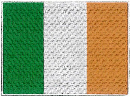 Irland Flagge gestickt Patch 12 x 9 cm -