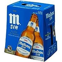 Mahou Sin Cerveza sin alcohol - Pack de 6 x 25 cl - Total: 1,5 l