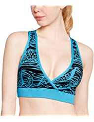 Zumba Fitness Geo Mid-level Soutien-gorge col V Femme
