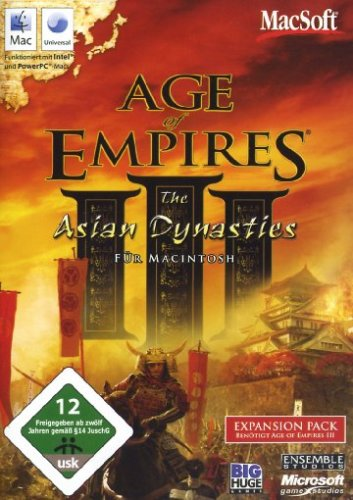 Age of Empires III: The Asian Dynasties - Erweiterungspack (Dvd-spieler, Indien)