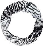 Odlo Tube Printed Light Schlauchschal, Black Silver Grey
