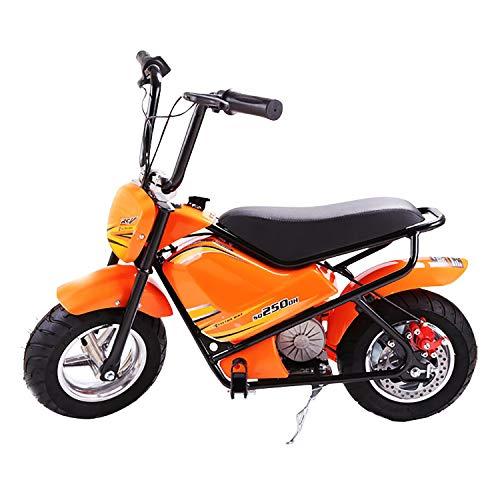 QHZ Elektro Kindermotorrad 24V Elektroauto Power Junge Mädchen Reiten Spielzeug Motorrad Roller Geländewagen Training Hilfsrad Geschenk 3-9 Jahre alt (Kleine Mädchen, Die Elektro-roller)