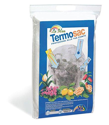 Maniver termosac cappuccio di protezione in tessuto non tessuto cm 100 x 160, pezzi 3
