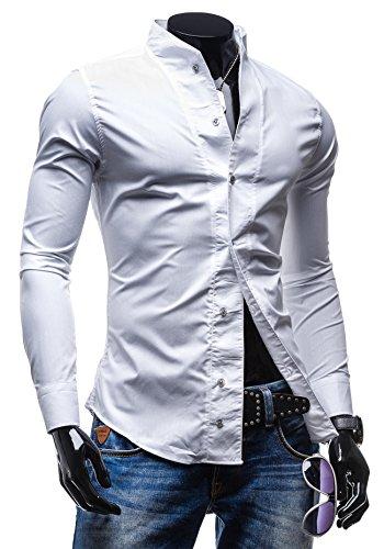 BOLF - Chemise casual – BOLF 5702 - Homme Blanc
