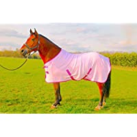 NEW HORSE COB PONY PINK SHOW TRAVEL FLEECE RUG stable cooler choice of Sizes