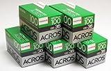 Fuji Neopan Acros 100 35 mm, 36 Bel. (&schwarz weiß), 5 Pack