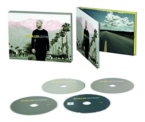Zeitreise - Das Beste von Schiller (3CD + DVD im Hardcoverbook Limited Super Deluxe Edition)