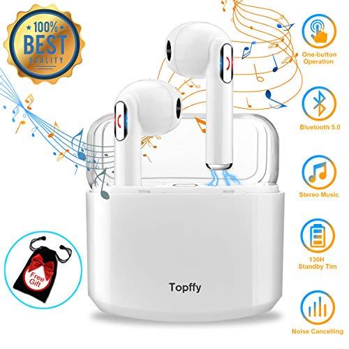 Auriculares Bluetooth,Auriculares inalambricos Bluetooth Auriculares Cascos Bluetooth inalámbricos Mejores Auricular inalambrico Deportivos Estéreo Auriculares con microfono para iPhone Samsung Huawei