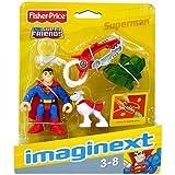 Fisher Price Imaginext DC Super Friends - Superman Mini Figure with Kryptonite