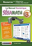 Manuel numerique sesamath 3e - DVD pour l'enseigant