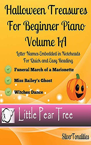 Halloween Treasures for Beginner Piano Volume 1 A (English Edition)