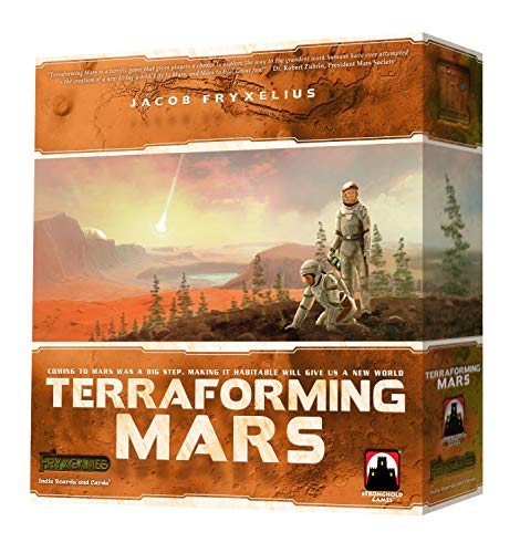 Indie Boards and Cards Terraforming Mars 6005SG STG06005 Stronghold Board Games, Multi-Coloured