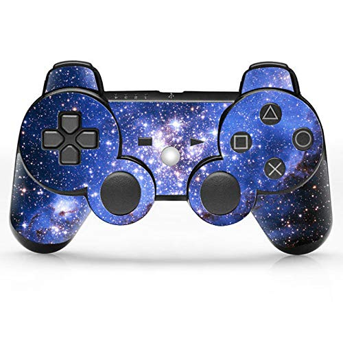 Playstation Controller PS3 - Blue Starry Skin Sticker (Skin Ps3 Sticker Controller)