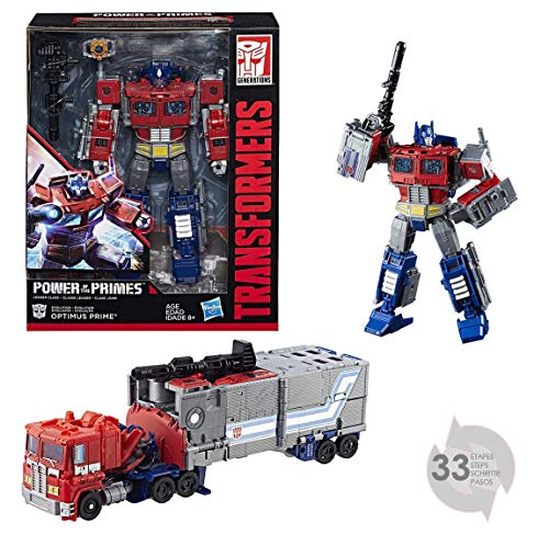 Transformers�- Generations Power of the Primes Leader Optimus Prime Figurine, E1147