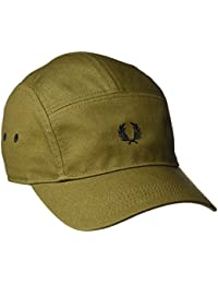 Fred Perry Ripstop 5 Panel Homme Cap Vert