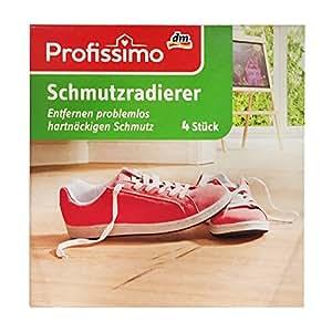 Profissimo Schmutzradierer, Entfernen problemlos hartnäckigen Schmutz (4 St Box)