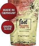 Nurigreen Fast Burn 14 Tage Body Detox Tee Kur - Natürliche Kräuterteemischung - 100 Gramm Hergestellt In Deutschland