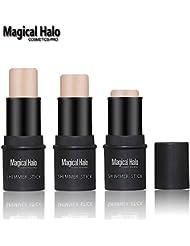 Halo mágicas Pro Serie schimmern Stick facial Makeup Highlighter 3d de contornos de Stick Ilumine