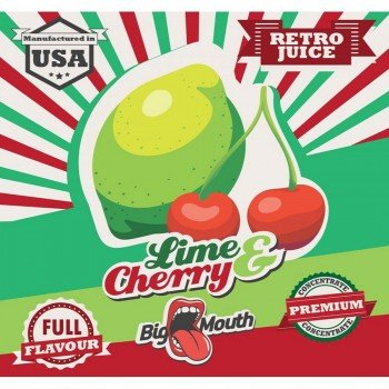 Big Mouth Aroma Lime & Cherry 10ml