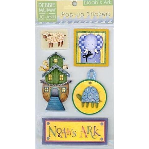 Debbie Mumm Pop Ups Embellishment Stickers-Noahs Ark by Debbie Mumm