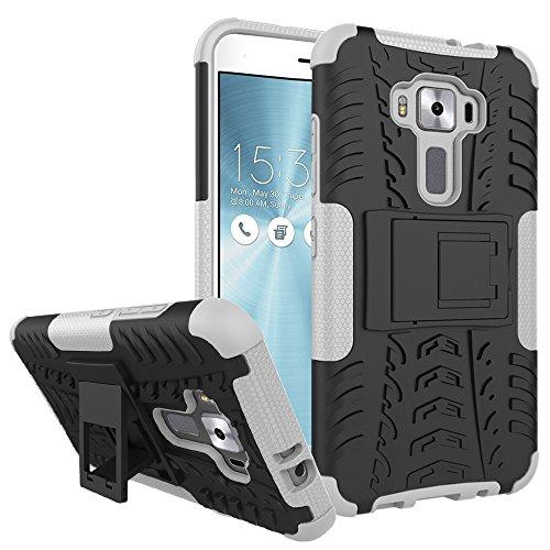 WindCase Zenfone 3 ZE520KL Hülle, Outdoor Dual Layer Holster Armor Tasche Heavy Duty Defender Schutzhülle mit Ständer Case für Asus Zenfone 3 ZE520KL 5.2