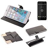 K-S-Trade Schutz Hülle für Shift Shift4 Schutzhülle Flip Cover Handy Wallet Case Slim Handyhülle bookstyle schwarz