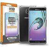 Orzly® - FlexiSlim Coque Souple pour SAMSUNG GALAXY A5 2016 SmartPhone (SM-A510F Modèle) - Super Fine Case (0,35 mm) - 100% TRANSPARENT