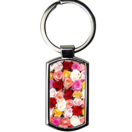 Men Metal Printing Rose For Key Ring Amazon