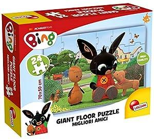 Lisciani- Bing Giant Floor 24 75812, Multicolor